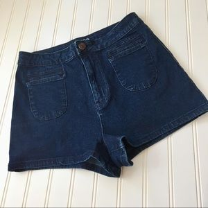 Urban Outfitters BDG dark wash shorts SIZE 29